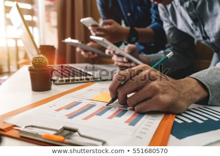 Stock photo: Business management banner
