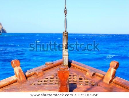грузовое · судно · лук · промышленных · декораций · большой · воды - Сток-фото © nito