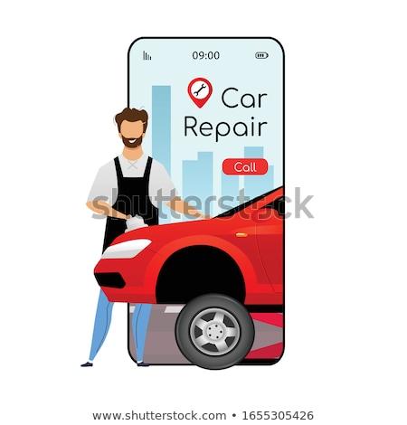 Handyman or Mechanic Phone Concept Stock photo © Krisdog