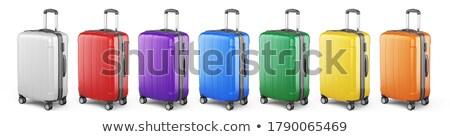 viajar · pacote · ilustração · elemento · como - foto stock © robuart