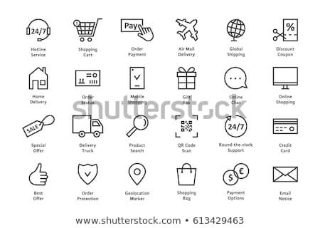 On-line serviços compras linear internet Foto stock © robuart