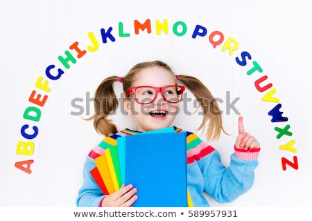 Spell English word girl Stock photo © bluering