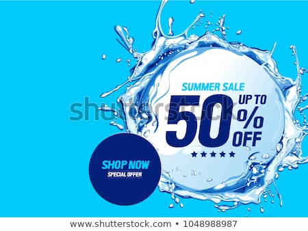 Special Offer Natural Products Vector Illustration Stock photo © robuart