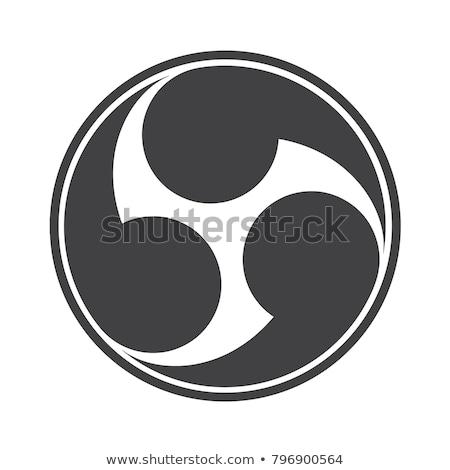 神道 · シンボル · 3次元の図 · 宗教 · 3D · 実例 - ストックフォト © lenm