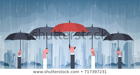 Background scene with raining in the city Stock photo © colematt