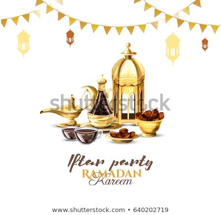 ünneplés · buli · ramadán · évszak · étel · boldog - stock fotó © SArts