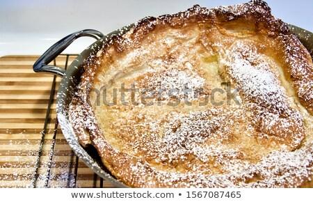 Dutch Baby pancake served Stock photo © Alex9500