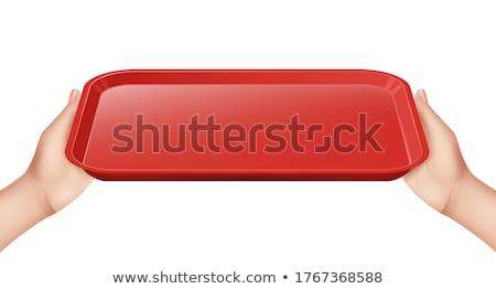 human template steward Stock photo © romvo