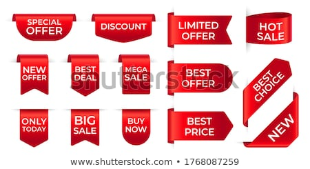Mega Discount for Exclusive Products to Buy Now Stock photo © robuart