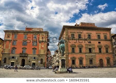 Piazza della Santissima Annunziata, Florence, Italy Stock photo © borisb17