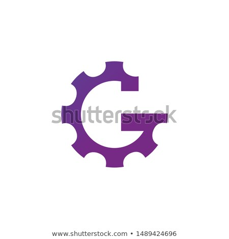 Letter G Gear Engineer Logo Design Template Element. Stock vector illustration on white background. Stock photo © kyryloff