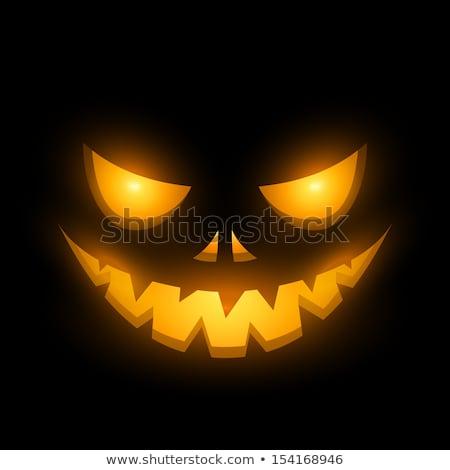 Halloween scary pompoenen vakantie nacht kasteel Stockfoto © liolle
