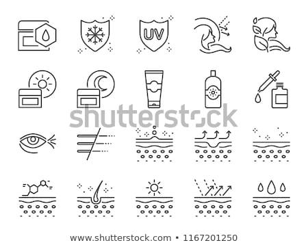 bőrápolás · szérum · gél · üveg · hidratáló · testápoló - stock fotó © anneleven