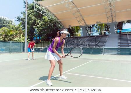 Feminino espera bola combinar Foto stock © Kzenon