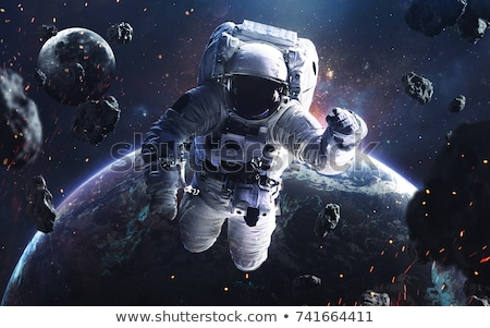 宇宙飛行士 宇宙 要素 画像 月 スペース ストックフォト © NASA_images