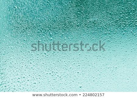 Eau texture résumé gouttes turquoise Photo stock © Anneleven