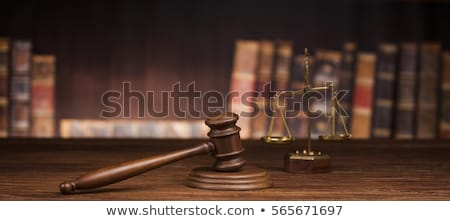 Verdict, Court gavel,Law theme, mallet of Judge   Stock photo © JanPietruszka