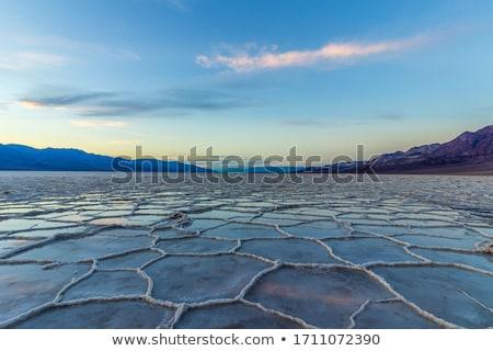 смерти долины панорамный облака осень Сток-фото © photoblueice