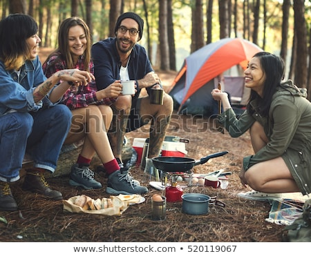 people camping stock photo © ongap