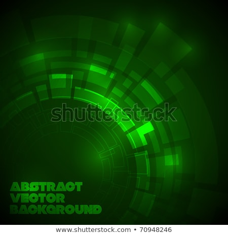 vector green background with place for your text stock photo © orson