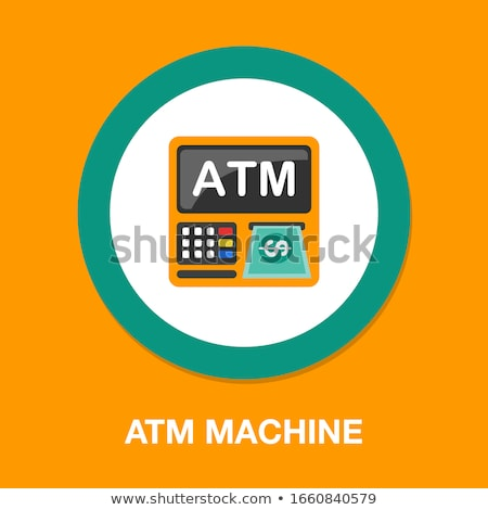 atm · machine · nombre · broches · code - photo stock © simplefoto