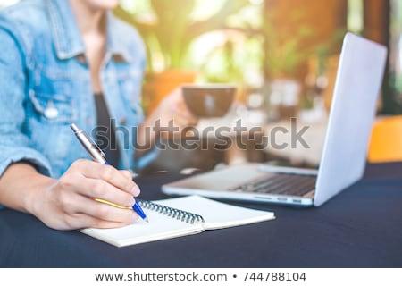 keyboard and pen Stock photo © gewoldi