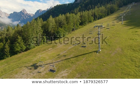 Summertime Skiing Slope Stock photo © Alvinge