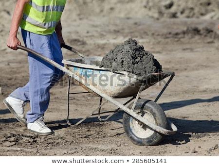craftsman pushing a wheelbarrow Stock photo © photography33