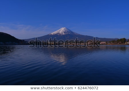 Mt.Fuji and  lake Kawaguchi stock photo © yoshiyayo