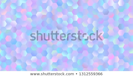Hatszög végtelenített absztrakt színes minta textúra Stock fotó © Leonardi