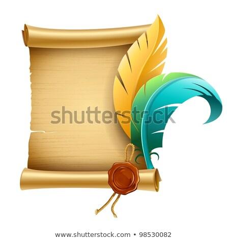 veren · ingesteld · kleur · ontwerp · achtergrond · Blauw - stockfoto © loopall