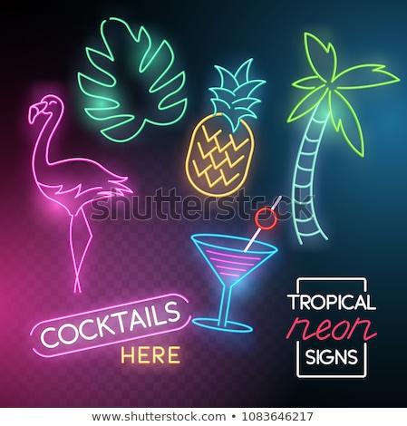 Summer Casino Banner Vector Illustration Stockfoto © solarseven