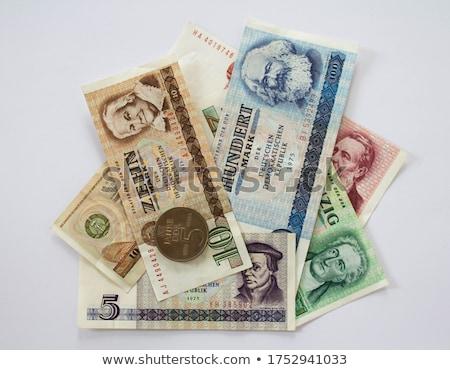DDR banknote Stock photo © claudiodivizia