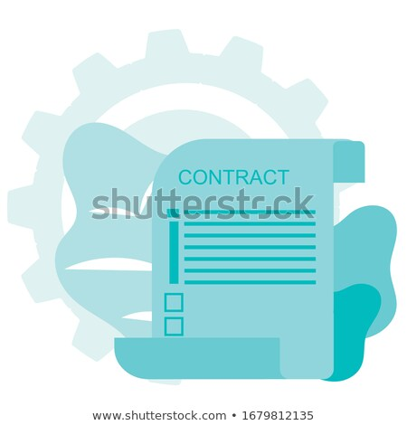 Blank list of conclusions Stock photo © bbbar
