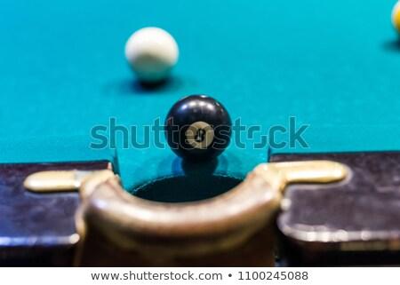 ボール 穴 スポーツ ガラス 背景 にログイン ストックフォト © haiderazim