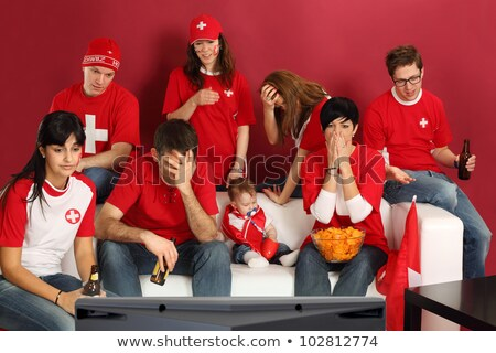 Disappointed Swiss sports fans Stock photo © sumners