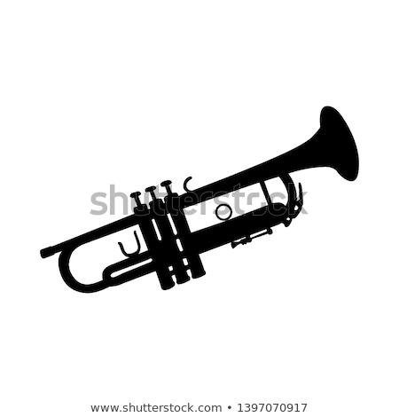 saksofon · görüntü · yalıtılmış · beyaz · müzik · altın - stok fotoğraf © ozaiachin