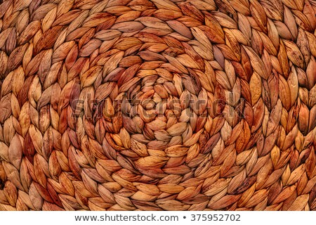 handcraft weave texture natural wicker Stock photo © ozaiachin