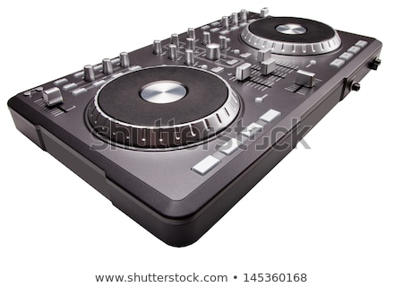 mixer · isolato · bianco · party · dance · discoteca - foto d'archivio © shutswis