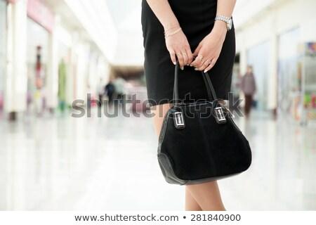 moda · modelo · vestido · branco · mulher - foto stock © rosipro