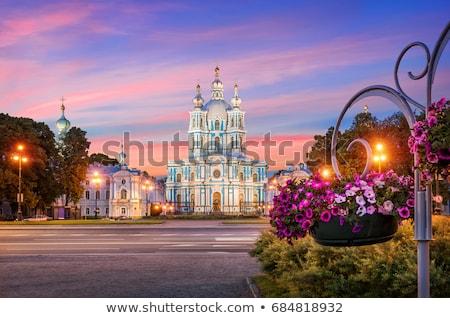 Foto stock: Catedral · Rusia · hermosa · ejemplo · barroco · arquitectura