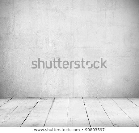 stone wall background with wooden floor stock photo © vlad_star