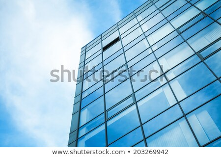 Modern office building made from glass and steel  stock photo © gavran333