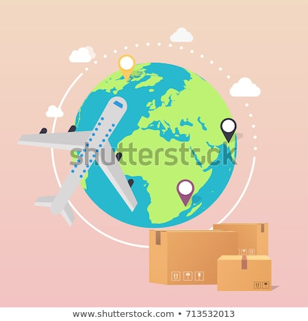 International Package Delivery Stock photo © Lightsource