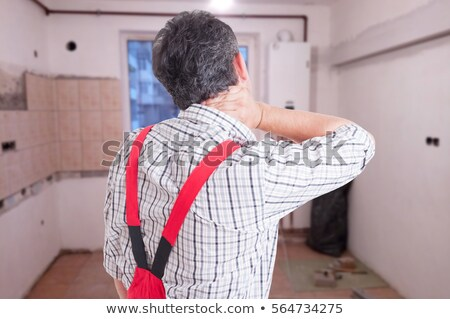 A hurt plumber. Stock photo © photography33