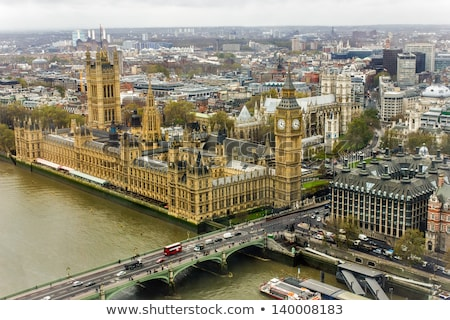 the world famous international landmark big ben of the houses of parliament in westminster london stock photo © snapshot