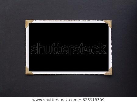 Vecchia foto fotocamera isolato bianco legno finestra Foto d'archivio © jonnysek