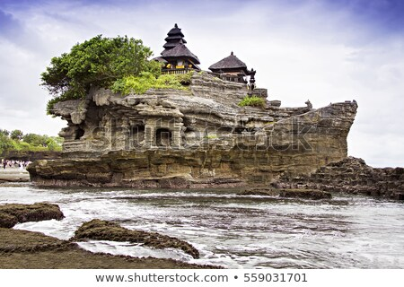 Tanah Lot cliffs Stock photo © tuulijumala
