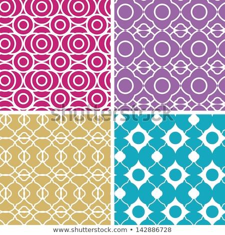 tile mosaic pattern backdrop in striped purple blue Stock photo © Melvin07
