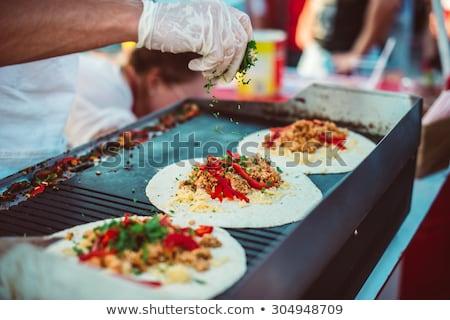 Mexican Street Food Stock photo © jkraft5